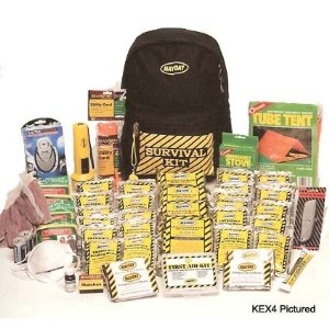 1 Person Survival Backpack Kitt