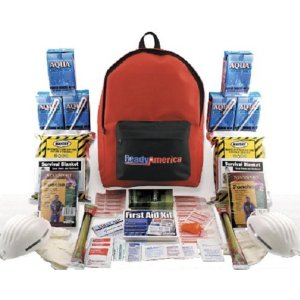 2 Person 3 Day Earthquake Grab and Go Kit