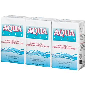 27 Pack of  Emergency Drinking Water