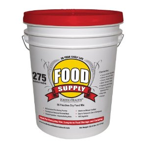275 Servings of Emergency Survival Food Supply