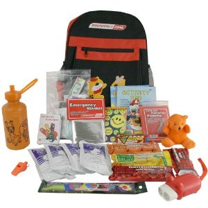 Childrens Emergency Backpack Kit