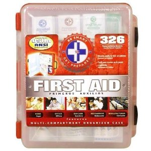 Disaster Preparedness First Aid Kit