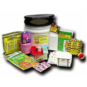 Earthquake Kit for Kids