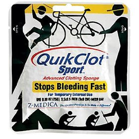 Emergency QuikClot First Aid