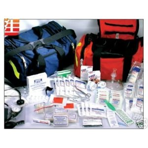 Fully Stocked Emergency Trauma Bag