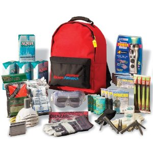 Deluxe Backpack Emergency Kit for 4 People