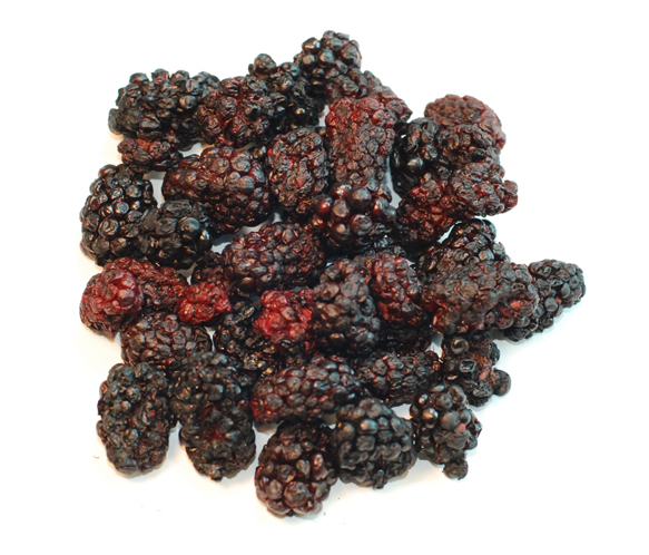 Dehydrating Blackberries