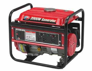 Portable 4-Stroke Emergency Generator