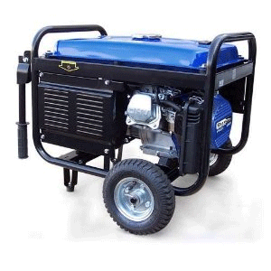 Emergency Generator with Wheel Kit