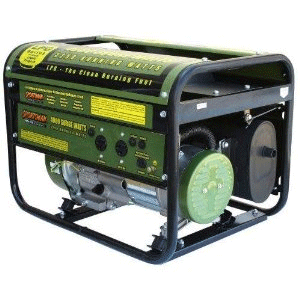 Propane Powered Portable Generator